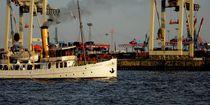 Dampfschiff Schaarhörn auf Tour by Peter Norden