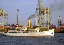 Dampfschiff Schaarhörn auf Tour 2 von Peter Norden
