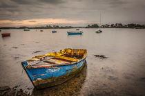 Das vergessene Fischerboot von St. Cado by Hartmut Albert