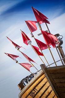 Kutter in Binz am Strand IV by papadoxx-fotografie