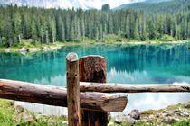 Karersee - Lake Carezza von Luisa Azzolini