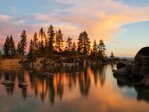 Sunset at Lake Tahoe by Björn Kleemann