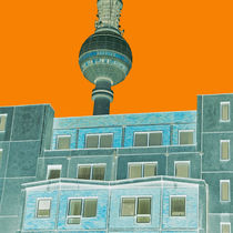 Berlin Fernsehturm by topas images