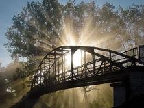 Sonnenaufgang an der Brücke von Ruby Lindholm