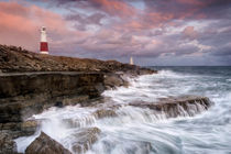 Stormy Sunset at Portland Bill by Chris Frost