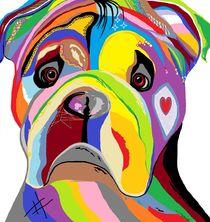Bulldog von eloiseart