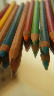 Buntstifte mit Spiegelung von lucylaube