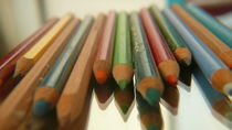 crayons by lucylaube