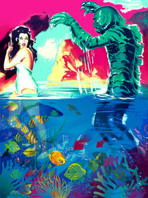 Creature from the POP! Lagoon by sasha-alexandre-keen