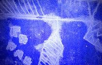 Silent Blue by Reiner Poser
