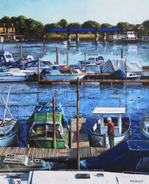 Painting-southampton-river-itchen-from-cobden-bridge