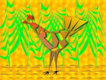 Bird In The Foliage von Ricardo de Almeida