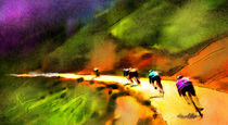 Le Tour de France 02 von Miki de Goodaboom