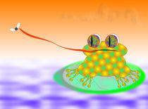 The Frog And The Fly von Ricardo de Almeida
