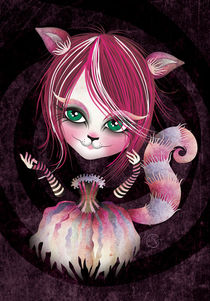 Cheshire Kitty by Sandra Vargas