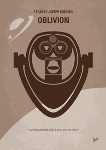 No217 My Oblivion minimal movie poster by chungkong
