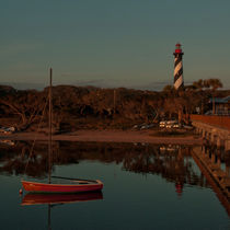St. Augustine Lighthouse Beach Early Morning color by shotwellphoto