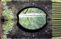 A bridge reflected in the water. von twilsje