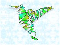Abstract Hummingbird von Ricardo de Almeida