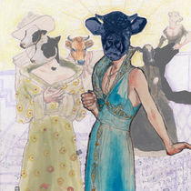 Soirée mondaine de vaches by Stephanie Heendrickxen