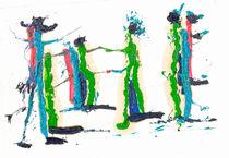 Fröhliches Tänzchen von Reiner Poser