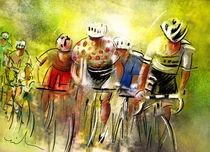Le Tour de France 07 von Miki de Goodaboom