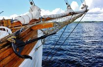 Segelschiff I by Michael Beilicke