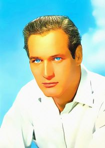 Paul Newman von Art Cinema Gallery