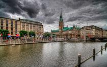 Kleine Alster Hamburg by photoart-hartmann