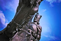 Monument of King Jagiello in Malbork, Poland by olgasart