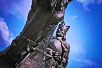 Monument of King Jagiello in Malbork, Poland von olgasart