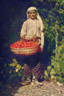 Georgian Tomato Seller by VG Bonderoff