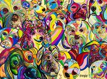 Dogs, Dogs, DOGS! by eloiseart