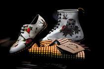 Tattoo footwear by John Hastings