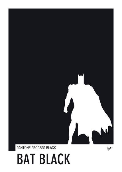 My-superhero-02-bat-black-minimal-pantone-poster