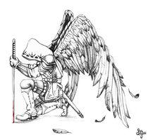 Archangel Warrior by Sandra Gale