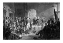 Washington Meeting His Generals von warishellstore