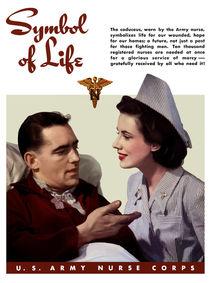 Symbol Of Life -- Army Nurse Corps WW2 von warishellstore