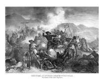General Custer's Death Struggle by warishellstore