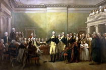General Washington Resigning His Commission by warishellstore