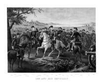 Robert E. Lee And His Generals  by warishellstore