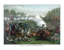 The Battle of Winchester -- Civil War  by warishellstore