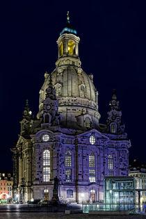 Dresdner Frauenkirche bei Nacht by ullrichg