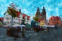 Lutherstadt Wittenberg - Germany by Viktor Peschel