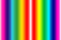 Rainbow of colours von Robert Gipson