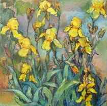 Gelbe Lilien Malerei  von alfons niex