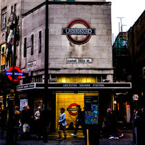 Leicester Square, London  von John Hastings