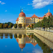 Schloss Moritzburg bei Dresden von ullrichg