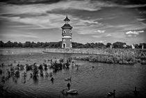Leuchtturm Moritzburg bei Dresden von Uli Gnoth