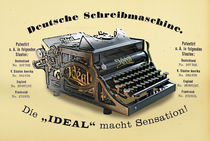 Schreibmaschine IDEAL...fiktive Annonce by ir-md